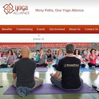 מתוך אתר Yoga Alliance